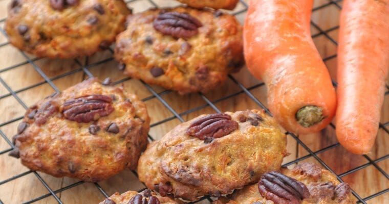 Biscotti vegani alle Carote stile Carrot Cake 🥕
