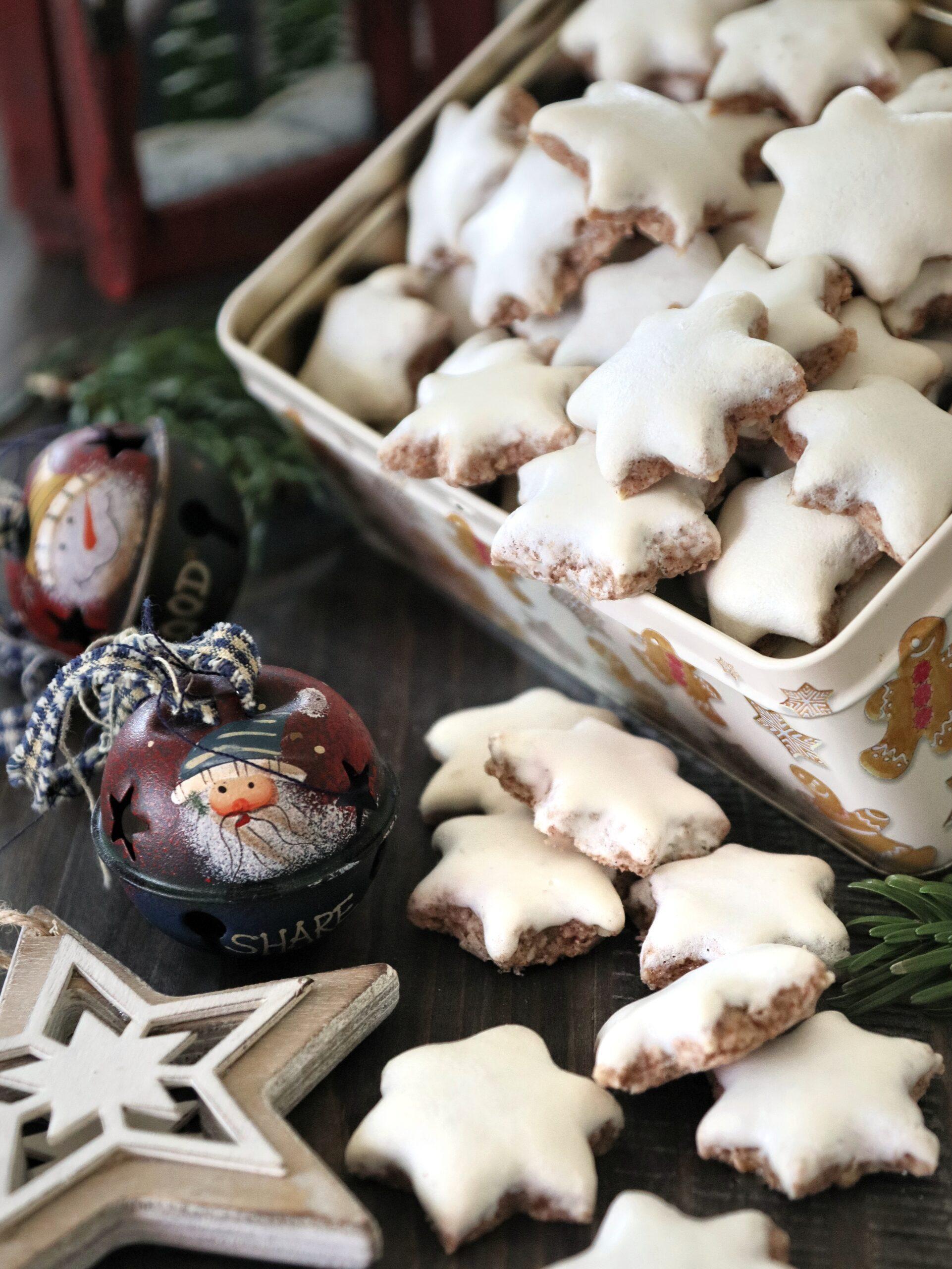 Biscotti Di Natale Zimtsterne.Zimtsterne Stelle Alla Cannella