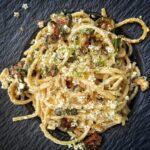 Spaghetti Sambuco e Quartirolo