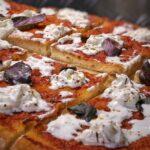pizza in teglia ad alta idratazione