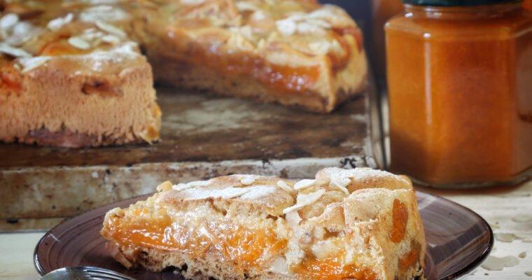 Torta Albicocche e Amaretto